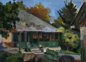 House Of My Godmother', 1953, 30x42
