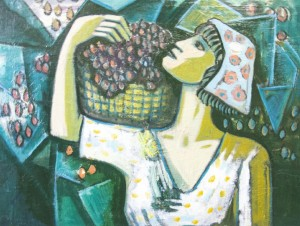 Grape Harvest, 2008,, oil on canvas, 60x80