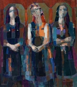 Harmony, 2006, oil on canvas,