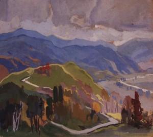 Гірський краєвид, 1978, п.т. 47х54
