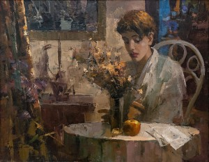 O. Fediaiev 'Portrait Of A Girl In The Interior', 2004
