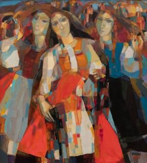 Приходько В. 'Закарпатські молодиці', 2006