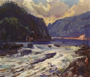 Гірський потік, 1979, п.о. 61х71