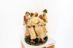 Свида В. 'Танець-дуботанець', 1956, майоліка, скульптура малих форм