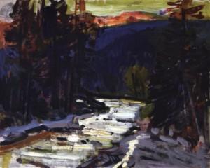 Гірський струмок, 1974, к.о. 30,5х35,5