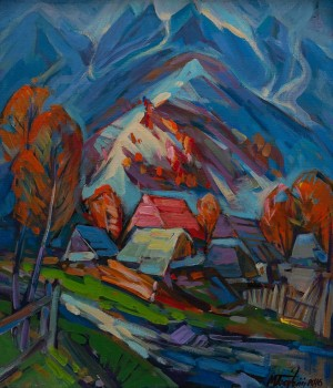 M. Bahnii 'The First Snow In The Tatras'