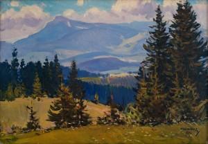 Z. Sholtes Mount Petros', 1972