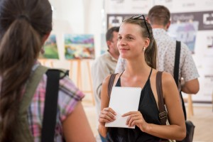 "IN UZHHOROD IT WAS OPENED THE EXHIBITION OF THE PARTICIPANTS' WORKS OF THE ALL-UKRAINIAN STUDENT CONTEST IN PAINTING ""SILVER EASEL"""