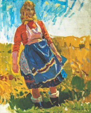 Hot Noon, 1979, oil on canvas, 76х61,5
