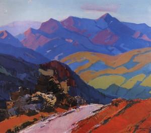 Гора Пікуй, 1967, п.о. 104х120