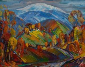 Багній М. 'Пізня осінь'