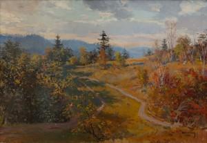 Шолтес З. 'Пейзаж', 1954