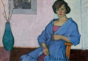 Портрет дружини, 1965, п.о. 85х120