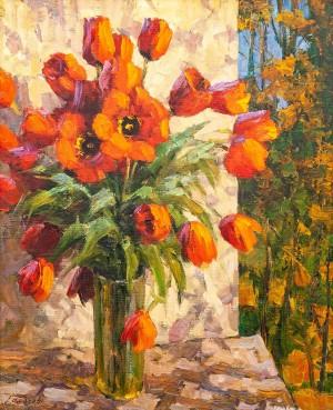 O. Fediaiev 'Tulips', 2017