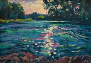 Вовчок В. 'Сонце на воді', 2017