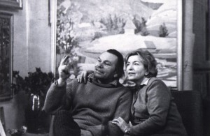 A. Marton with his wife, 1970
