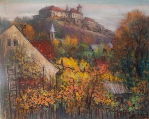 M. Dzys-Voinarovskyi 'A Warm Day'