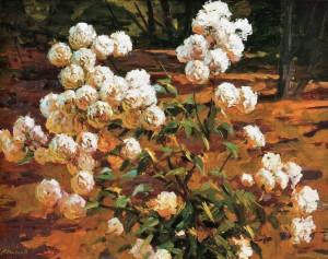 In The Garden, 2009, 70x95