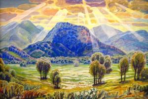 Долина нарцисів, 1993, к.о., 77х114