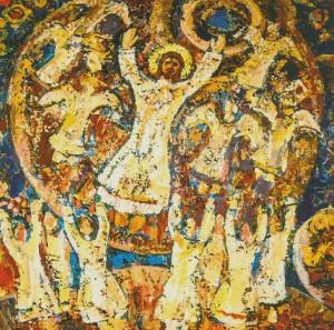 Герц Ю. Воскресіння, 2000, п.т., 100х100
