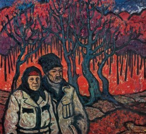 Autumn Has Come, 1970, oil on canvas, 90х100