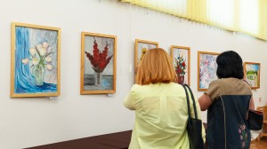EXHIBITION OF ANASTASIIA MOSHKOLA