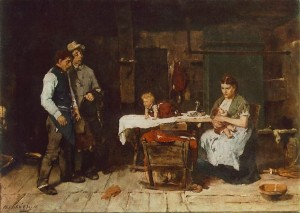 Чоловік п'яниця 1872 р. д.о.