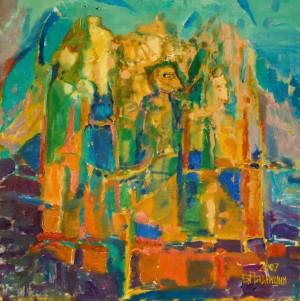 Кінокефали, 2007, п.о., 100х100