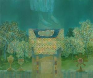 Липовецькі сади. Стопа, 2010, п.о., 70х80