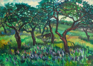 'In The Garden', 2005
