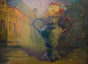 Flower Pot, 2010, oil on canvas, 60x80