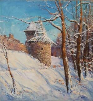 Засніжений замок, 80х75