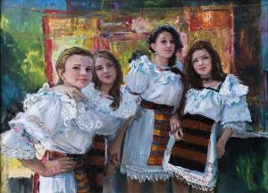 Дівчата з Верхньої Апші