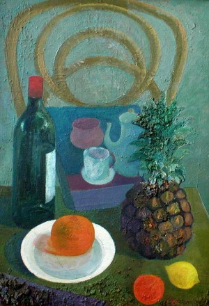 'Still life with Pineapple'.jpg