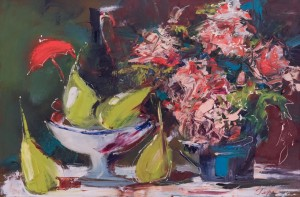 N. Herasymenko Still life with Flowers', oil on canvas, 40x60
