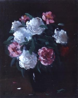 Квіти на темному фоні