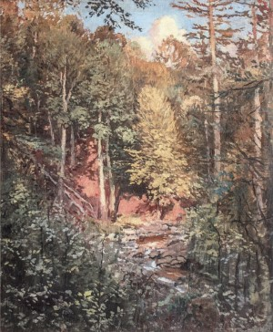Mountain River, 1947, oil on canvas, 85x70