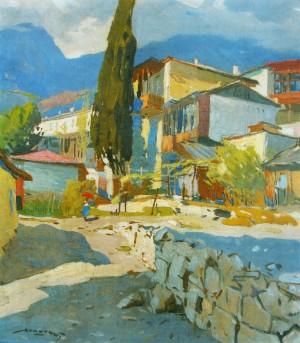 Гурзуф, 1957, п.о. 67х58