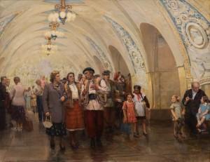 Чернов Л. 'Метро', 1952