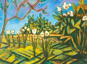 Flowers In The Garden, 2005, oil on canvas, 40x50