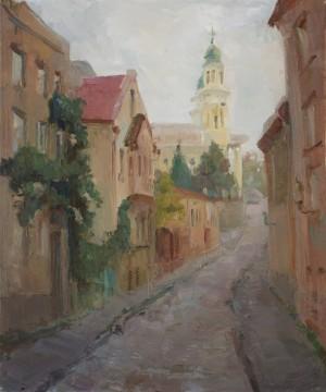 Oleksandra Andriiash. Cityscape. 2016