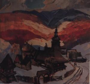 Гуцульщина, 1987, п.о. 120х110