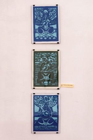 Y. Lats Triptych 'I think'