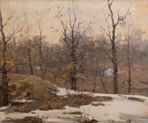 Шишко С. 'Останній сніг', 1946 S. Shyshko