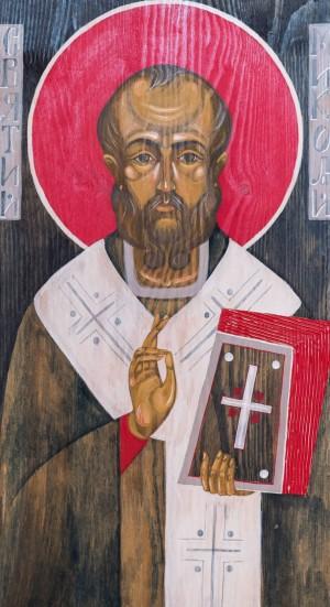 Kh. Hets St. Nikolas', board, tempera, 32x60