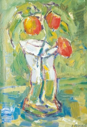 Flowers In The Vase, 2005, oil on canvas, 50x40