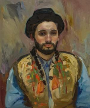 Renat Berkutsia. Portrait. 2017. 50х60