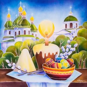 N. Kushchenko 'Easter Spring In Nizhyn'
