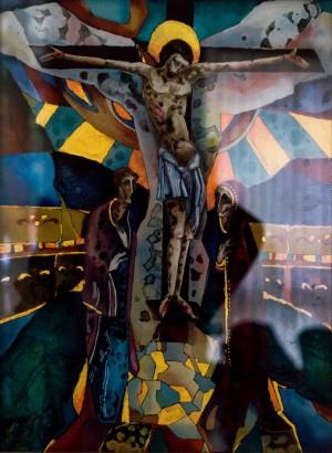 Кузьма В. На Голгофі, на хресті, 2017