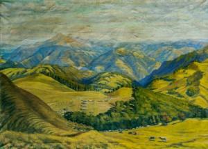 Гуцульські полонини, 1960, п.о. 93х127